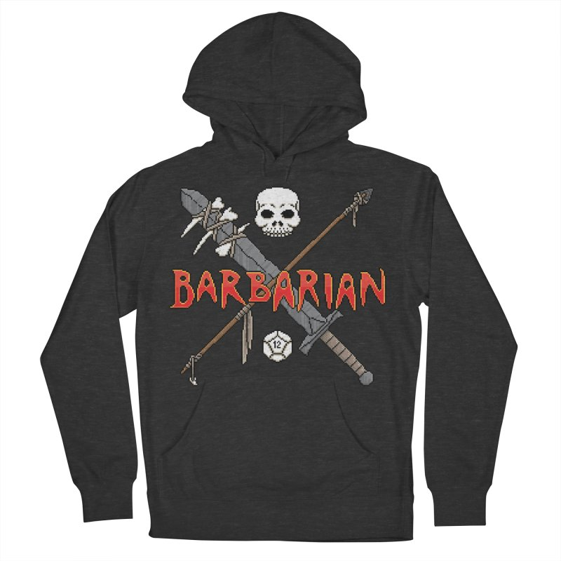 Barbarian Women's Pullover Hoody by Pixels Missing