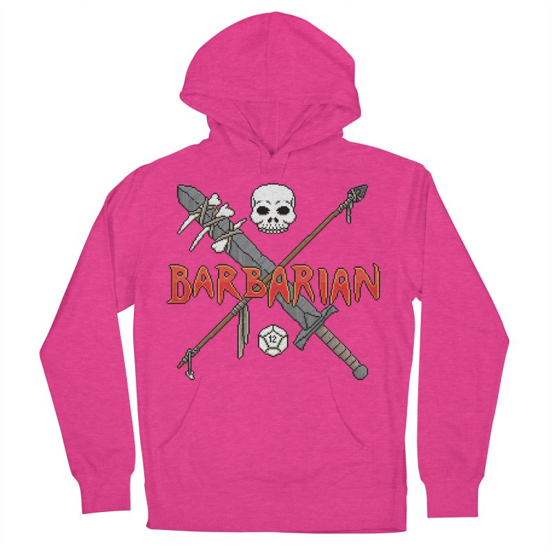 Barbarian Men's Pullover Hoody by Pixels Missing