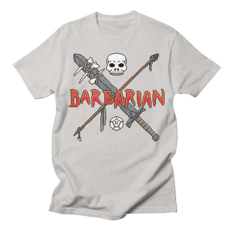 Barbarian Men's T-Shirt by Pixels Missing