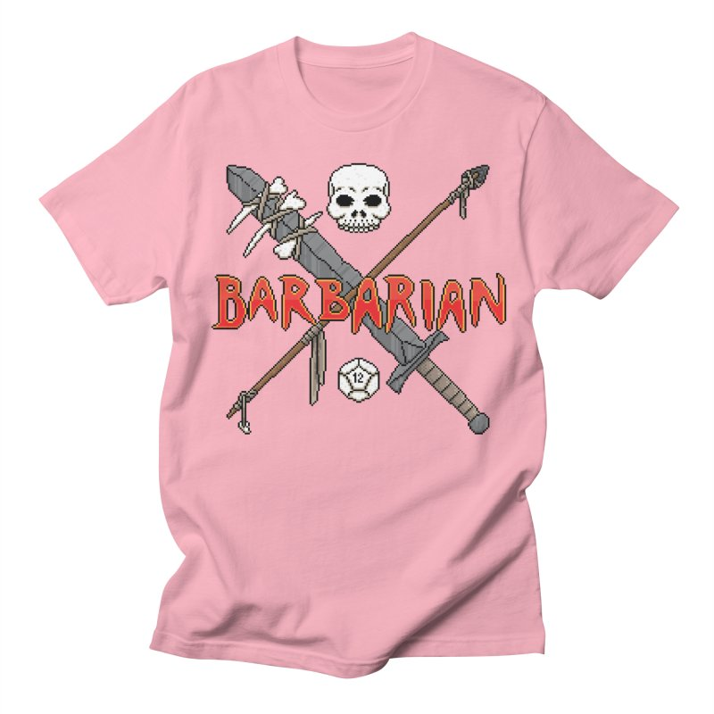 Barbarian Women's Unisex T-Shirt by Pixels Missing