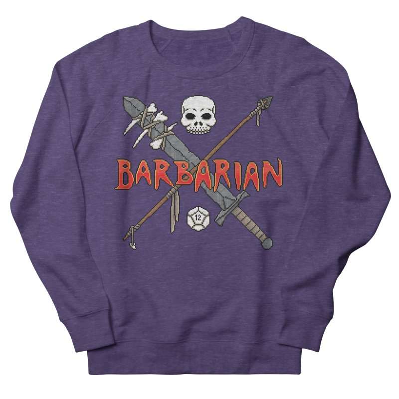 Barbarian Women's Sweatshirt by Pixels Missing