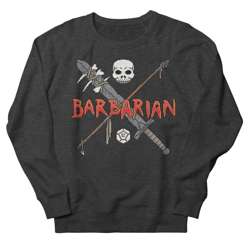 Barbarian Men's Sweatshirt by Pixels Missing