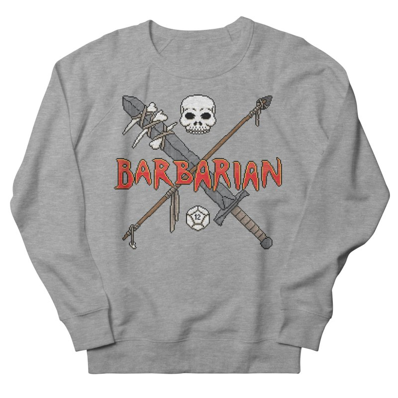 Barbarian Men's Sweatshirt by Pixels Missing