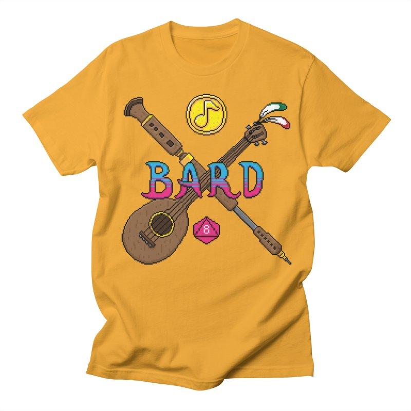 Bard Men's T-shirt by Pixels Missing