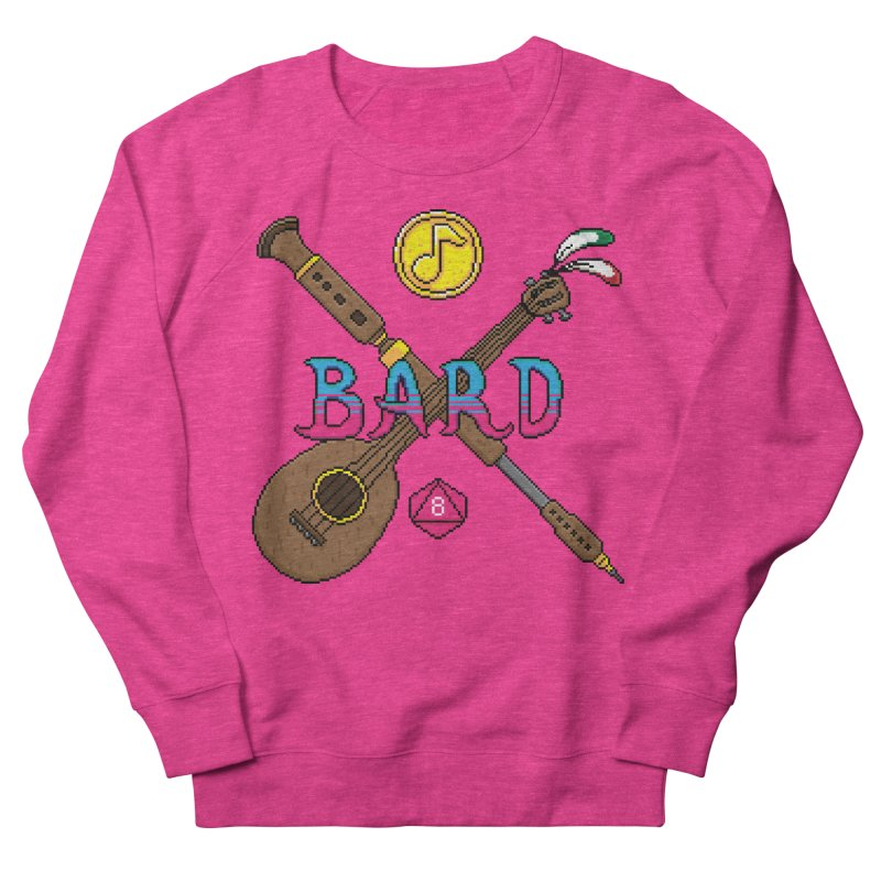 Bard Men's Sweatshirt by Pixels Missing