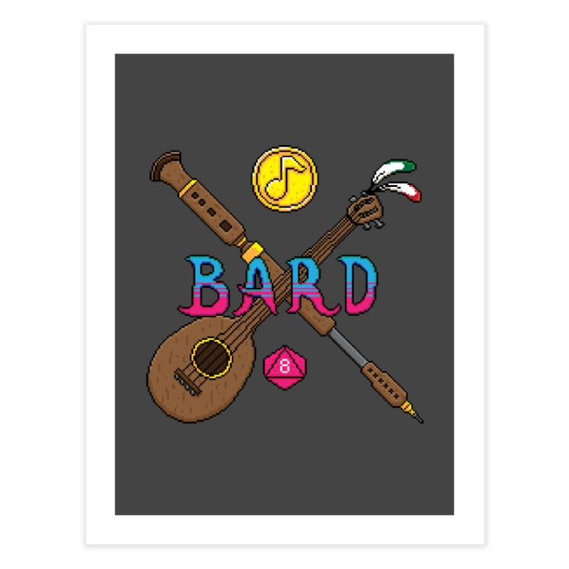 Bard Home Fine Art Print by Pixels Missing