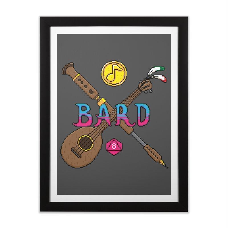 Bard Home Framed Fine Art Print by Pixels Missing