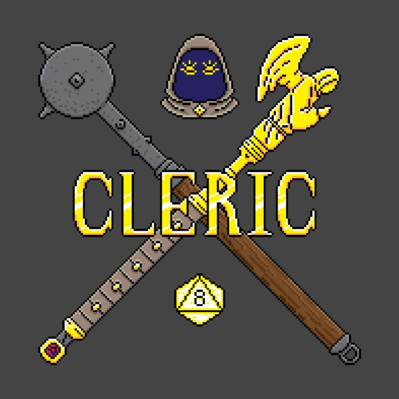 Cleric Men's T-shirt by Pixels Missing