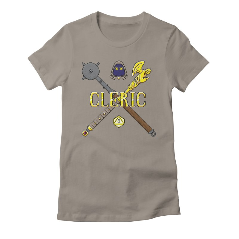 Cleric Women's Fitted T-Shirt by Pixels Missing