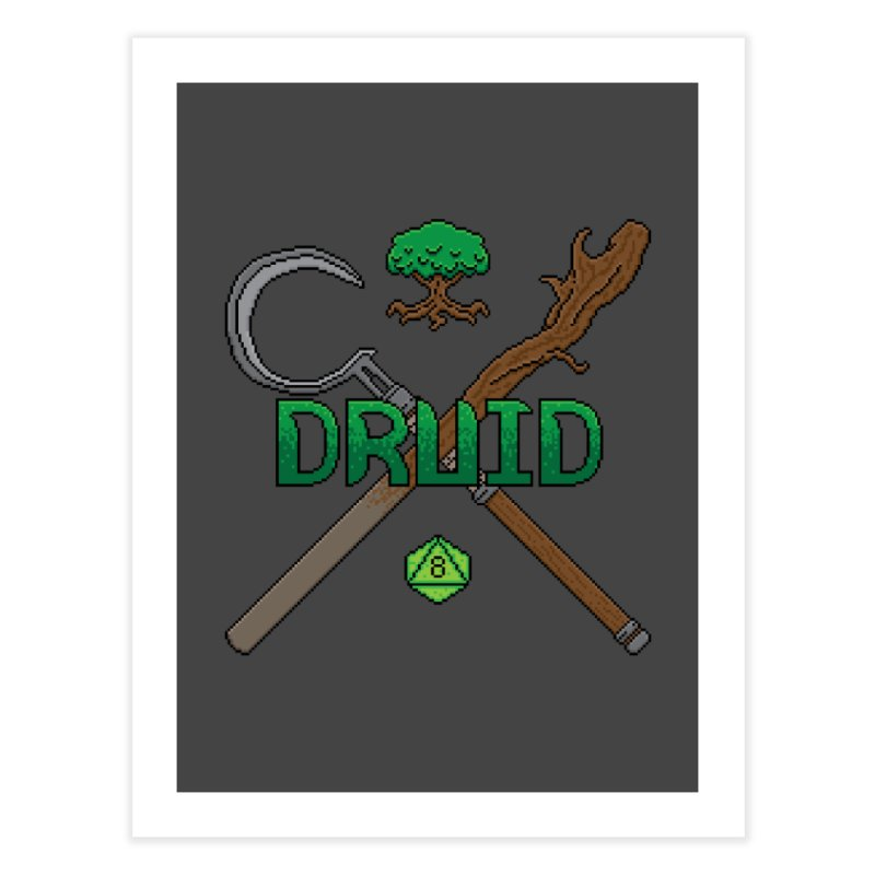 Druid Home Fine Art Print by Pixels Missing