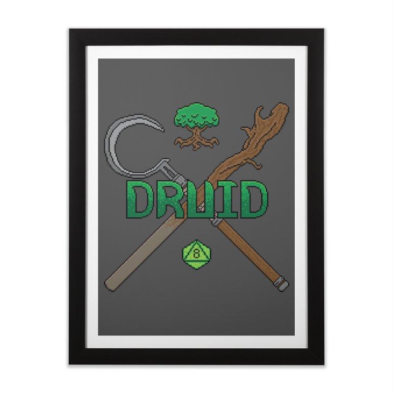 Druid Home Framed Fine Art Print by Pixels Missing