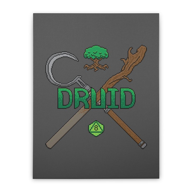 Druid Home Stretched Canvas by Pixels Missing