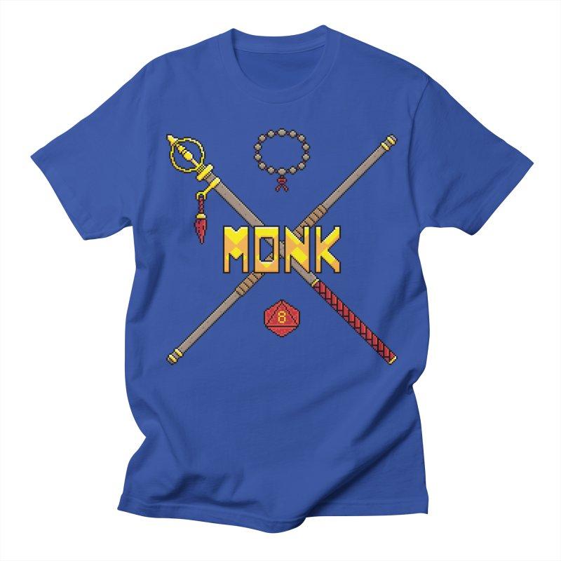Monk Men's T-Shirt by Pixels Missing
