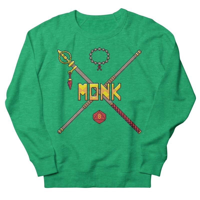 Monk Women's Sweatshirt by Pixels Missing