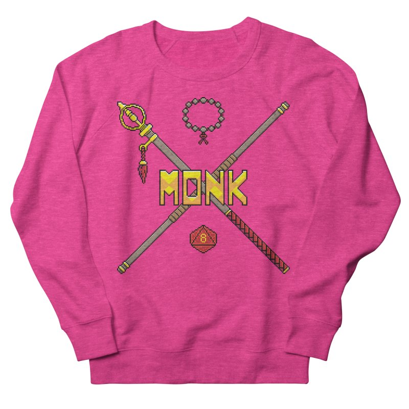 Monk Women's Sweatshirt by Pixels Missing