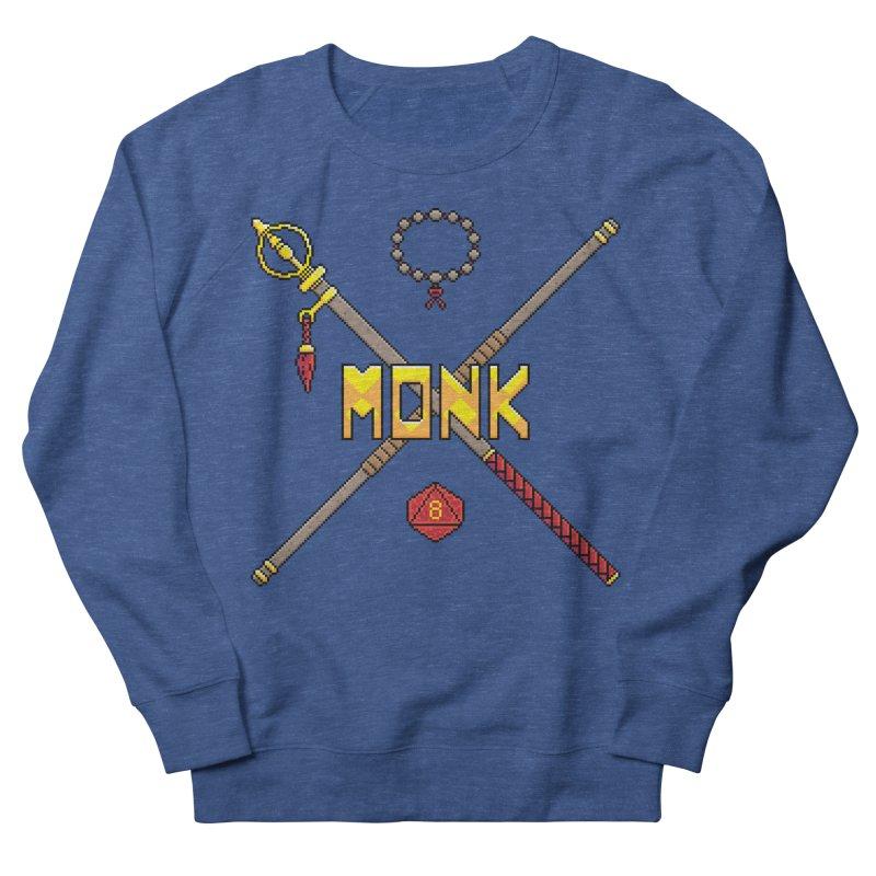 Monk Men's Sweatshirt by Pixels Missing