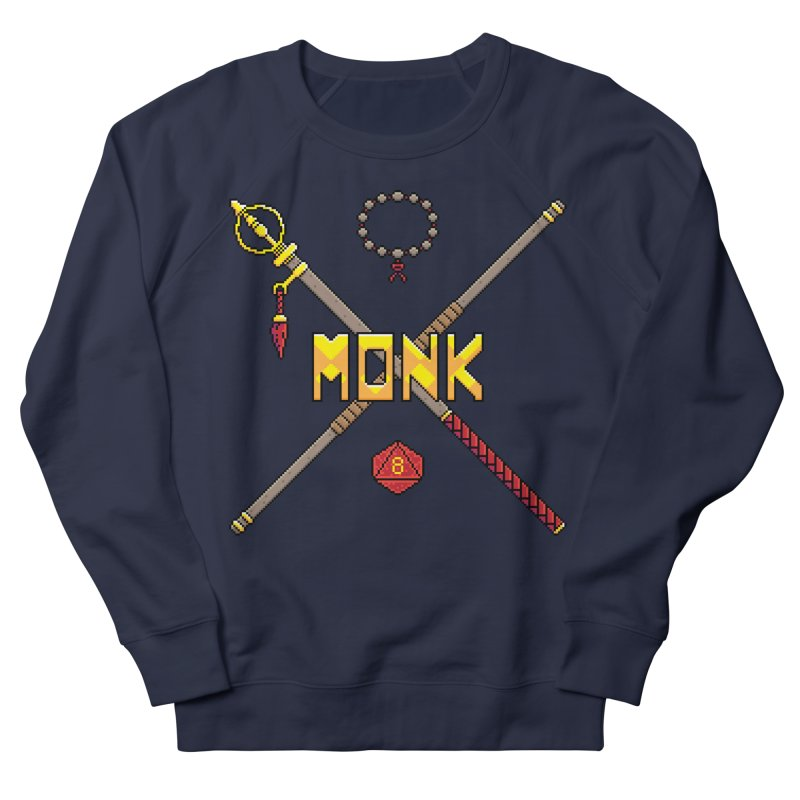 Monk Men's Sweatshirt by Pixels Missing