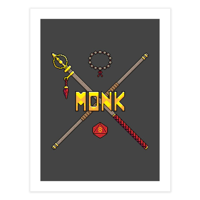 Monk Home Fine Art Print by Pixels Missing