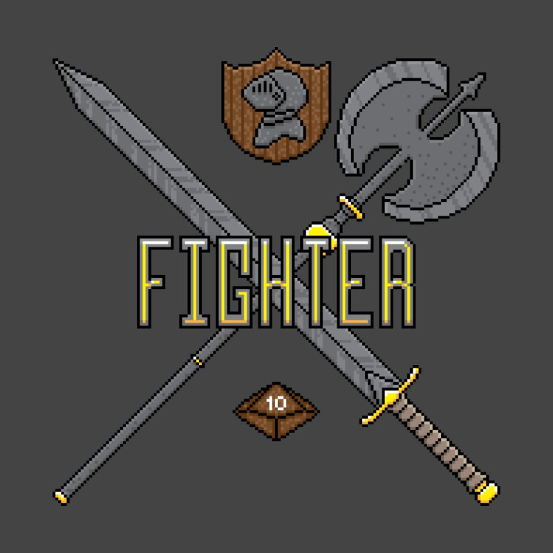 Fighter by Pixels Missing