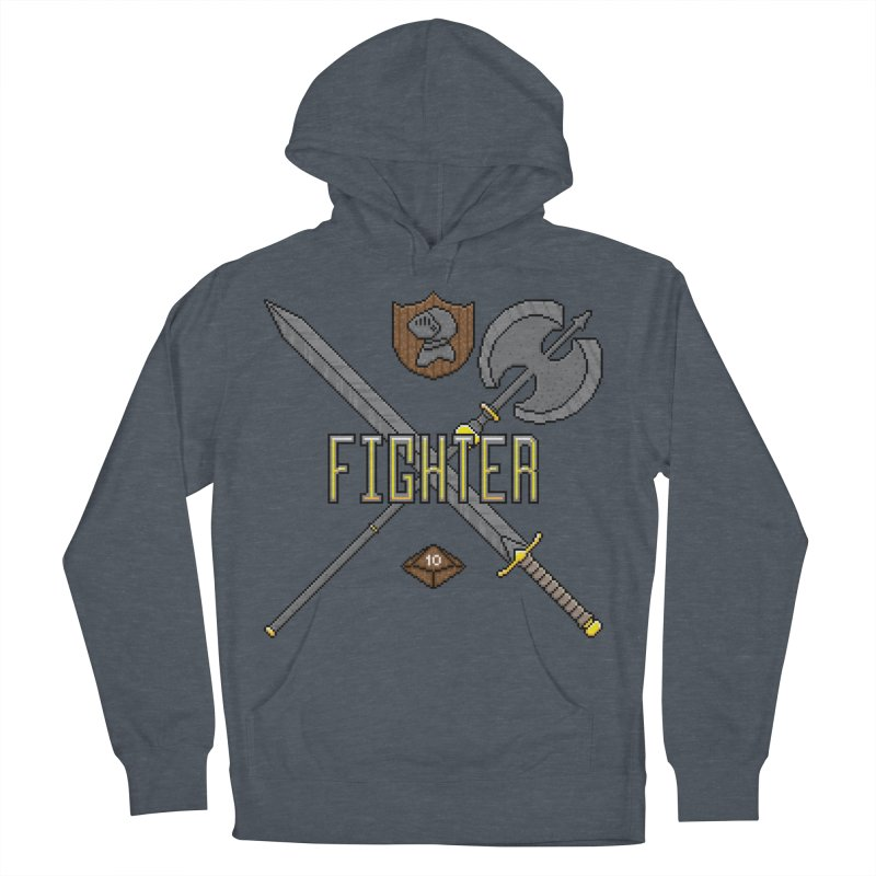 Fighter Women's Pullover Hoody by Pixels Missing