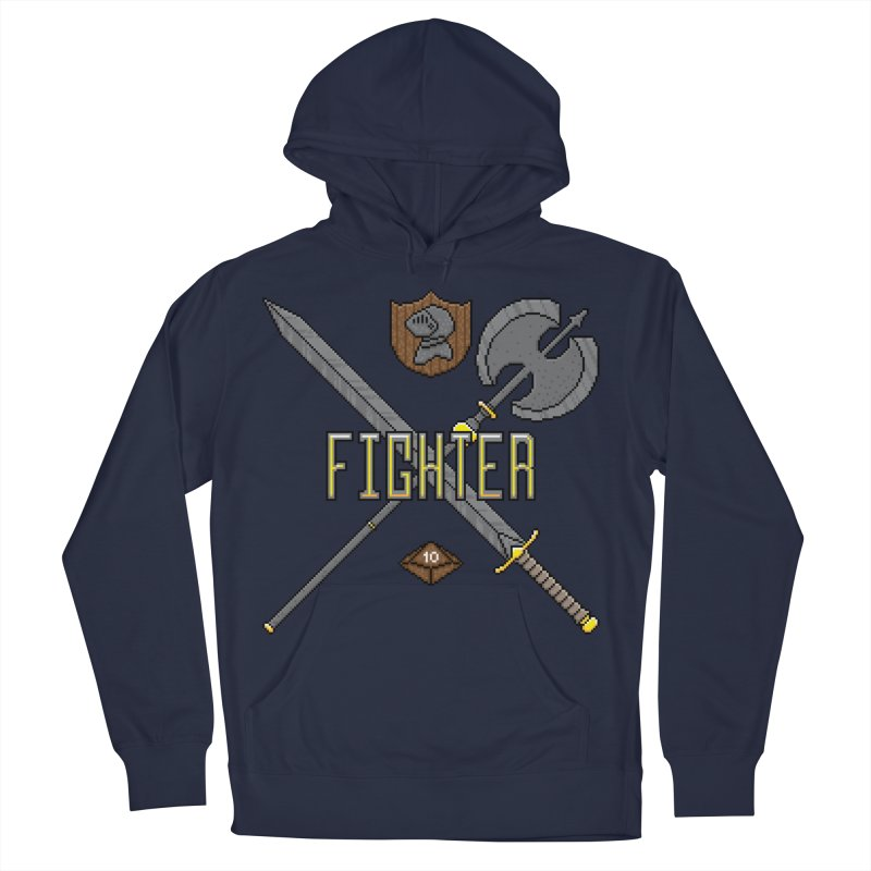 Fighter Men's Pullover Hoody by Pixels Missing