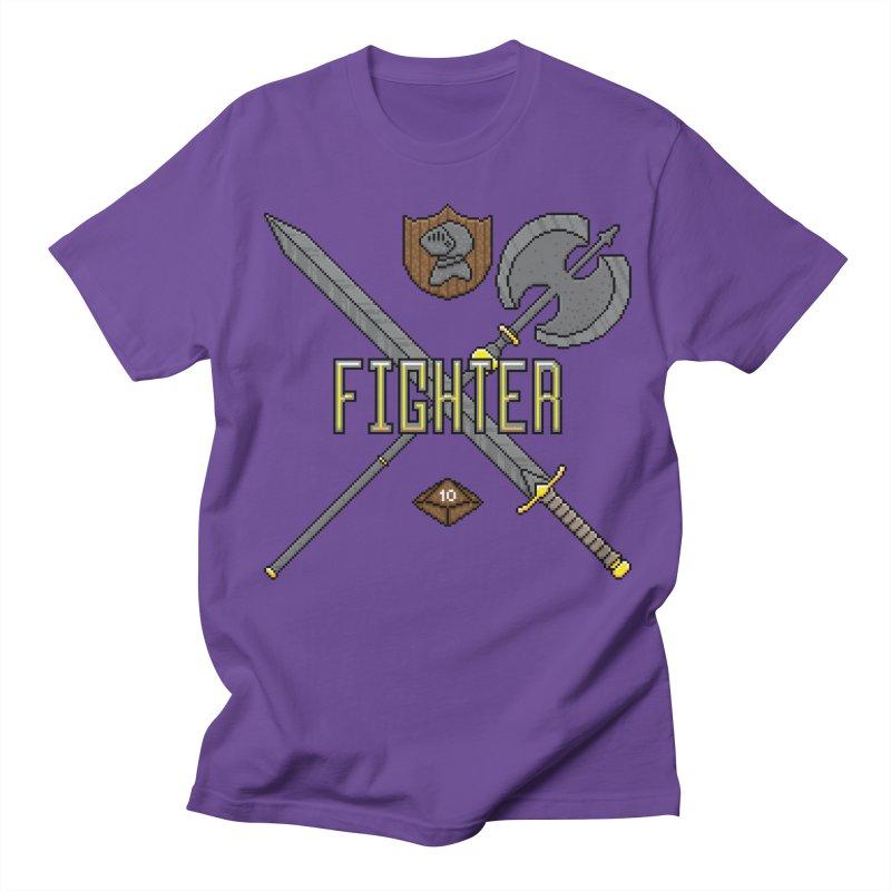 Fighter Women's Unisex T-Shirt by Pixels Missing