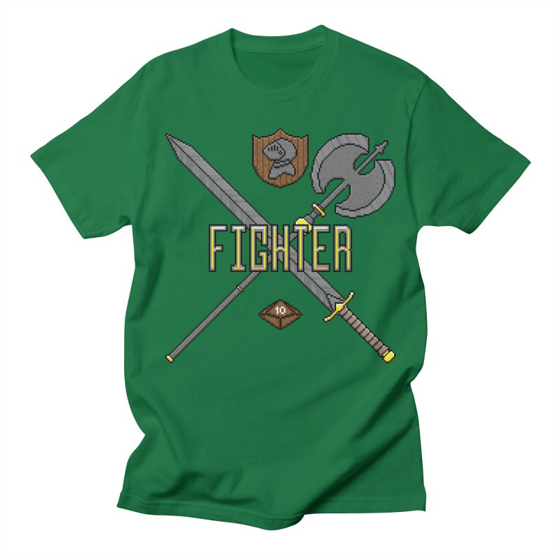 Fighter Women's Unisex T-Shirt by Pixels Missing