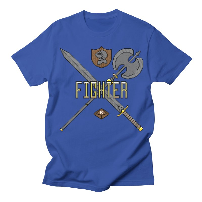 Fighter Men's T-Shirt by Pixels Missing