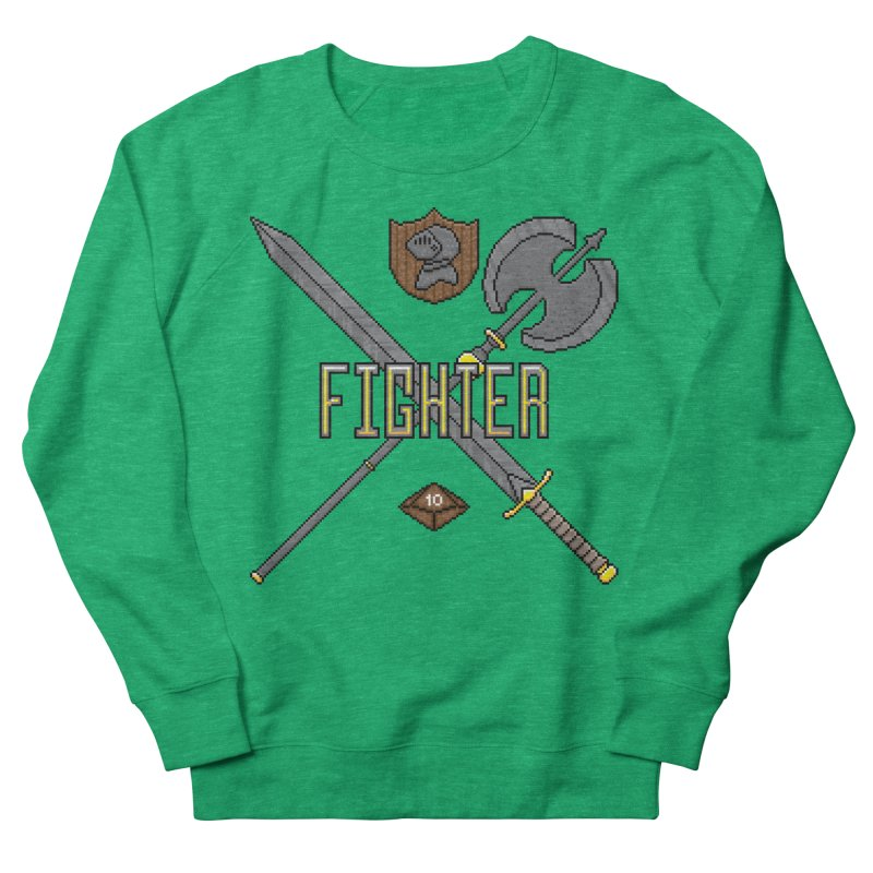 Fighter Women's Sweatshirt by Pixels Missing