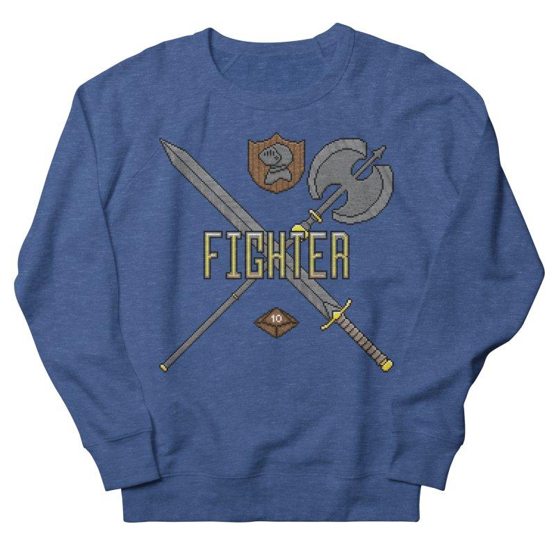 Fighter Men's Sweatshirt by Pixels Missing