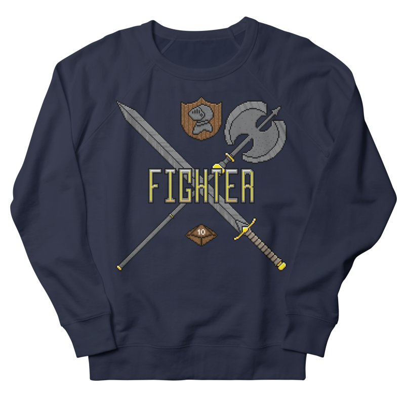 Fighter Men's Sweatshirt by Pixels Missing