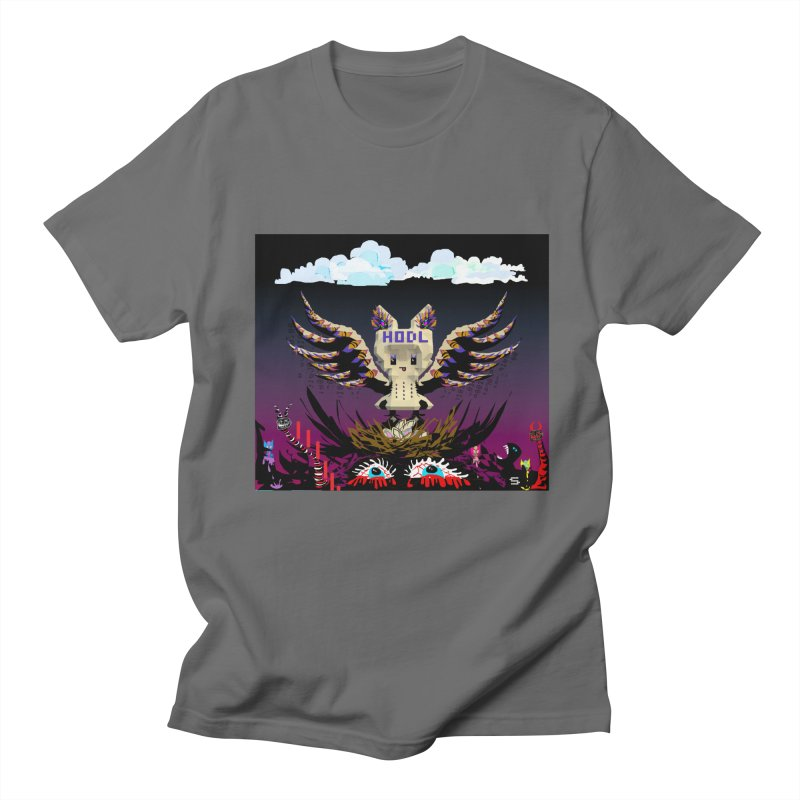 SB - HODL BIRD Men's T-Shirt by My pixEOS Artist Shop