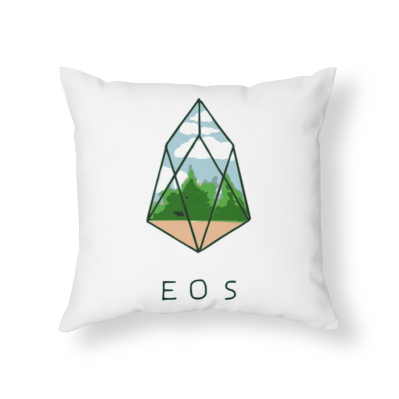 RB - Window Home Throw Pillow by My pixEOS Artist Shop