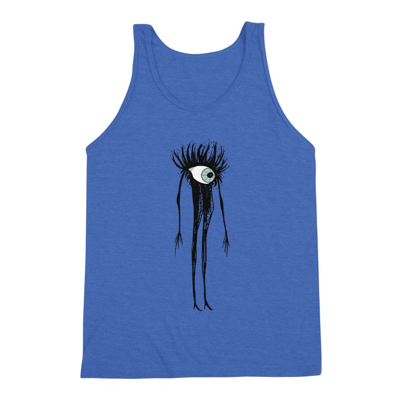 OP - EYE  Have Arrived Men's Triblend Tank by My pixEOS Artist Shop