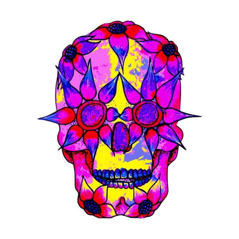 OP - Pink Skully by My pixEOS Artist Shop