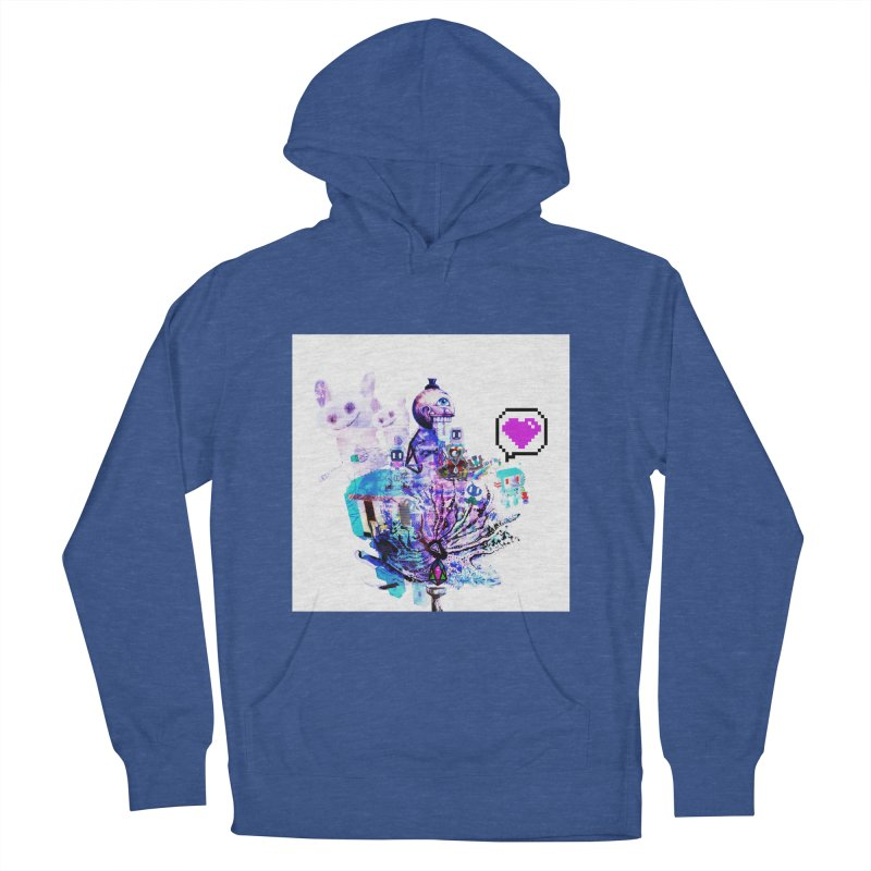 YM - Love pixEOS Men's Pullover Hoody by My pixEOS Artist Shop