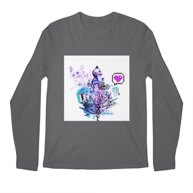 YM - Love pixEOS Men's Longsleeve T-Shirt by My pixEOS Artist Shop