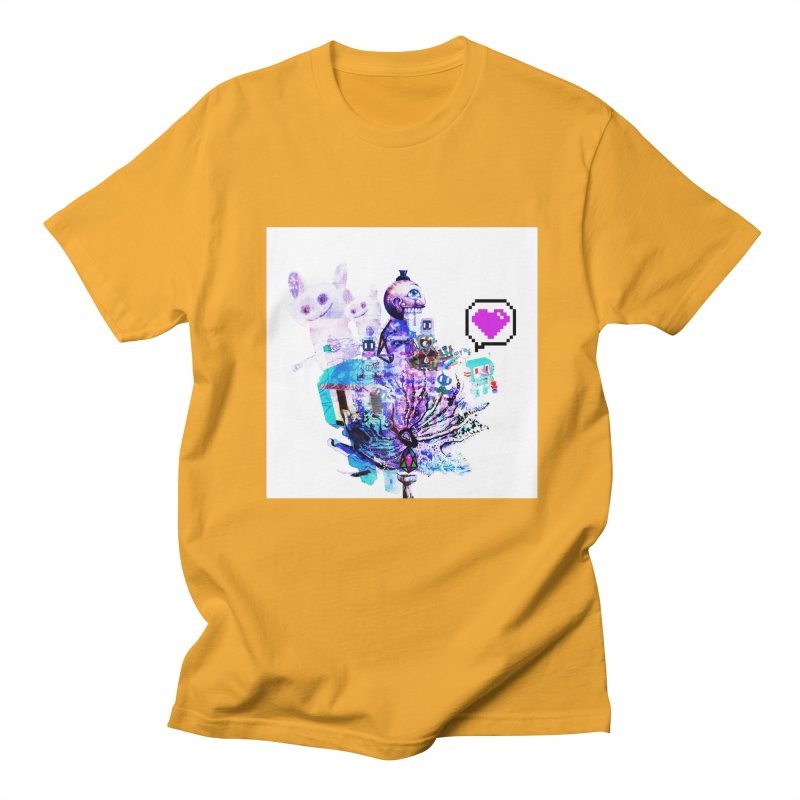 YM - Love pixEOS Men's T-Shirt by My pixEOS Artist Shop