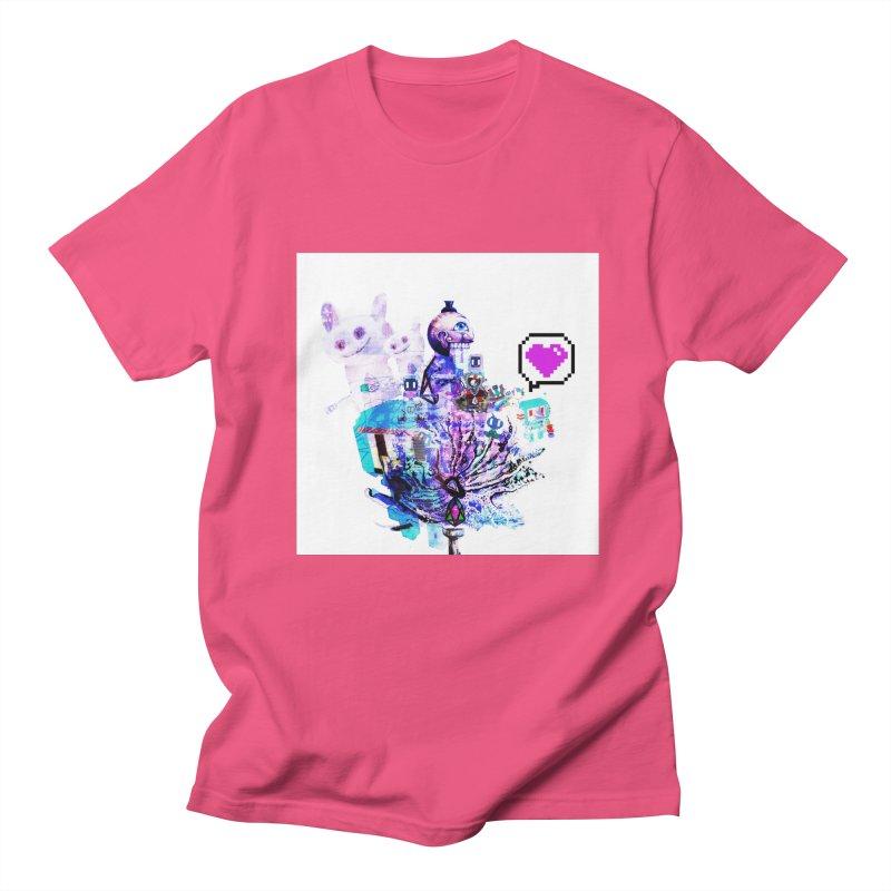 YM - Love pixEOS Men's T-Shirt by My pixEOS Artist Shop