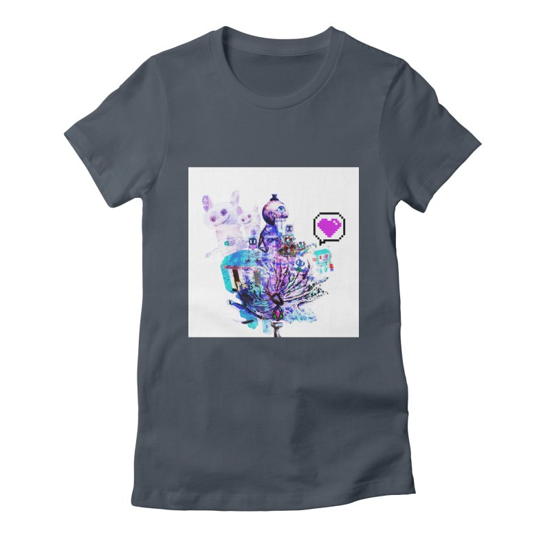 YM - Love pixEOS Women's T-Shirt by My pixEOS Artist Shop