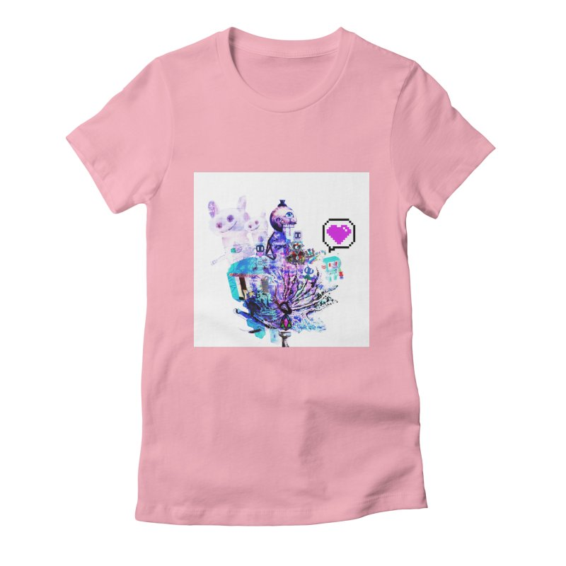 YM - Love pixEOS Women's T-Shirt by My pixEOS Artist Shop