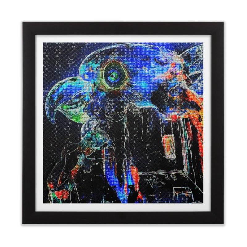 YM - Electric FreedEOS Home Framed Fine Art Print by My pixEOS Artist Shop