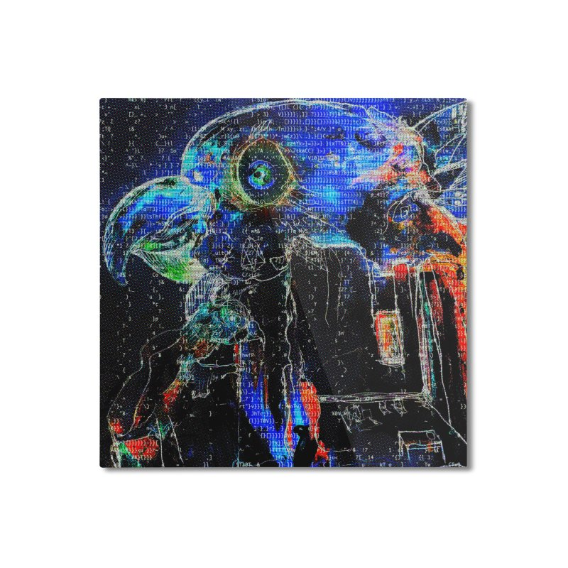 YM - Electric FreedEOS Home Mounted Aluminum Print by My pixEOS Artist Shop