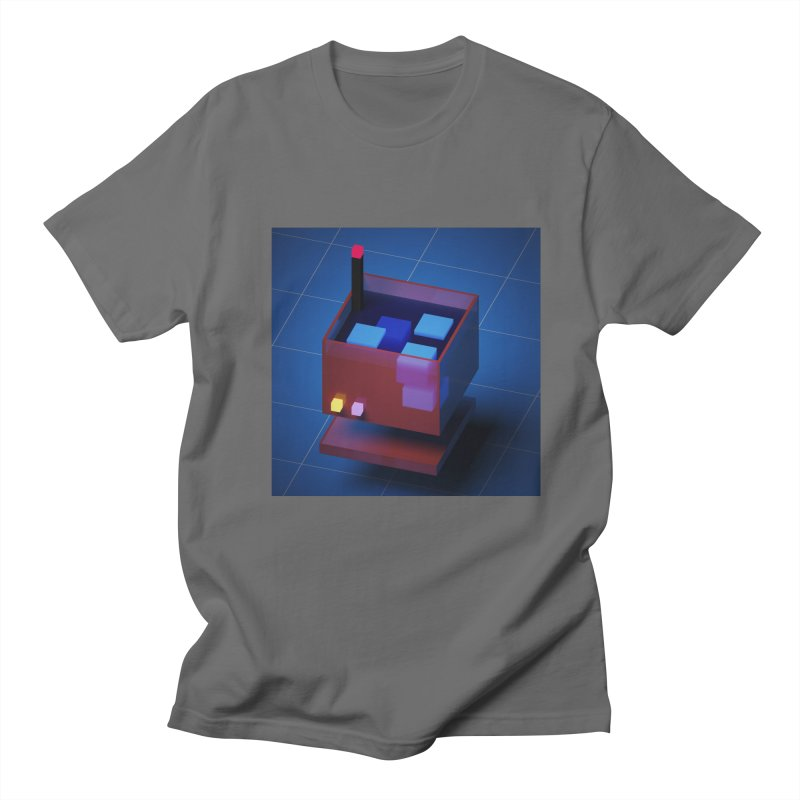 FY - Voxie Drink Men's T-Shirt by My pixEOS Artist Shop