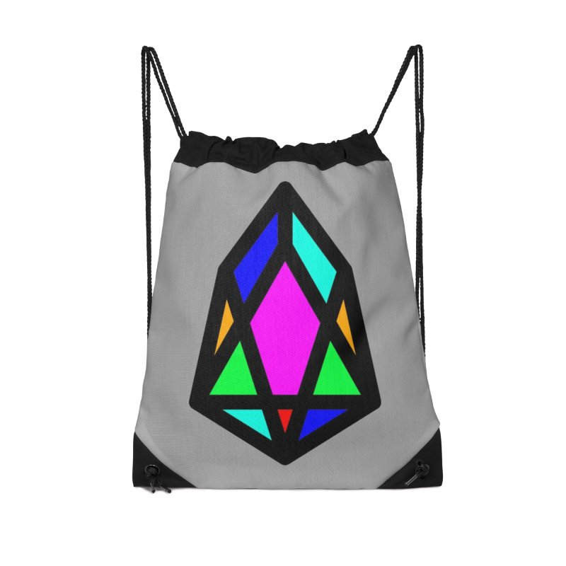 PIX - pixEOS Logo Classic Accessories Drawstring Bag Bag by My pixEOS Artist Shop