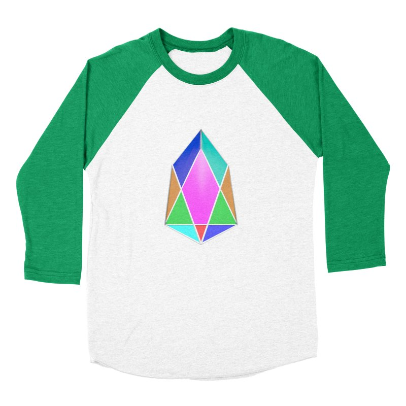 PIX - pixEOS Logo 3D Men's Baseball Triblend Longsleeve T-Shirt by My pixEOS Artist Shop
