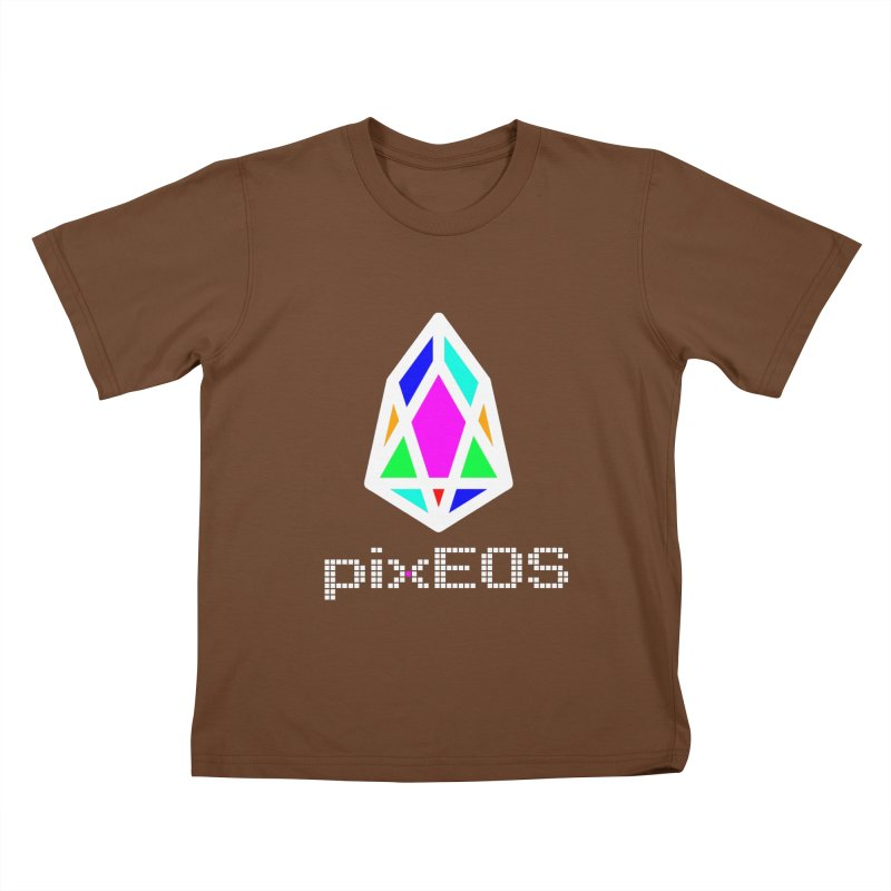 PIX - Nega-pixEOS Kids T-Shirt by My pixEOS Artist Shop