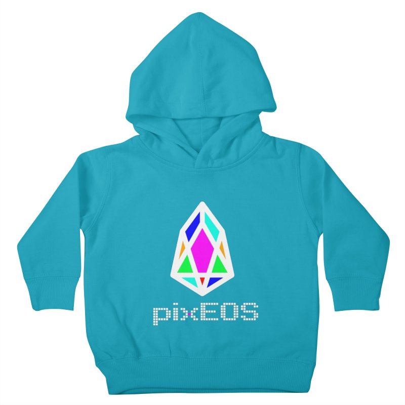 PIX - Nega-pixEOS Kids Toddler Pullover Hoody by My pixEOS Artist Shop