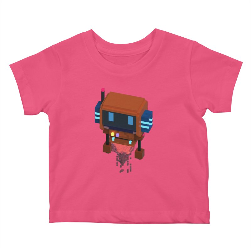 FY - Voxie Rocket Kids Baby T-Shirt by My pixEOS Artist Shop