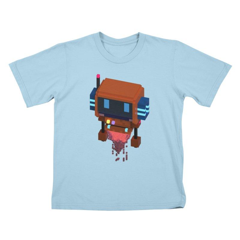 FY - Voxie Rocket Kids T-Shirt by My pixEOS Artist Shop